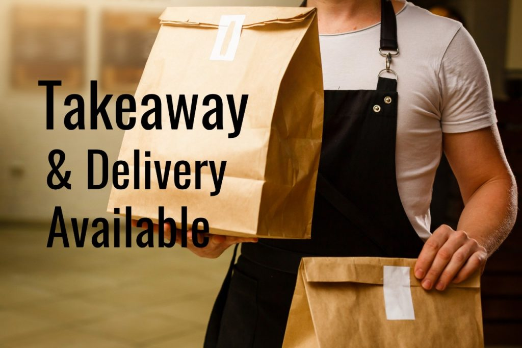 Takeaway & Delivery Available